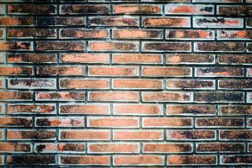Old brick wall backdrop