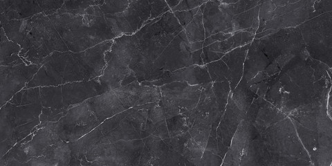 Deurstickers Stenen dark color marble texture, black stone marble background