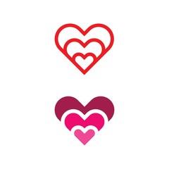 Beauty Love Vector illustration design