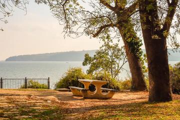 Marine Park on the Black Sea. Varna, Bulgaria