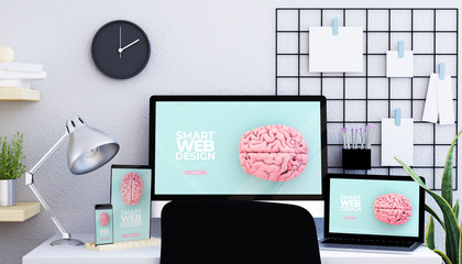 moodboard studio with responsive devices