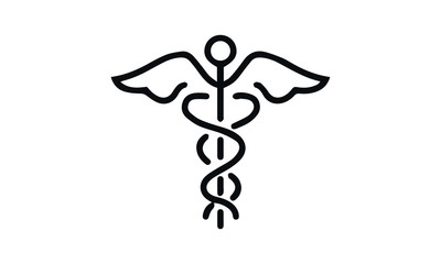 health care and medical vector design black and white