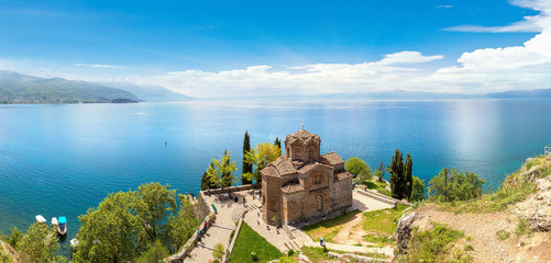 Jovan Kaneo Church in Ohrid in Republic of Macedonia