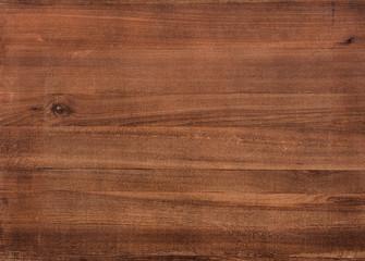 Textura de prancha de madeira lisa marrom. Fototapete