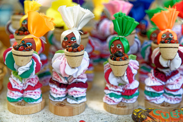 Typical Cuban handmade souvenir