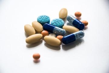 Fototapeta Tabletki różne 2 obraz