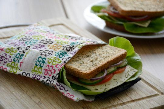 Eco-friendly durable reusable sandwich bags