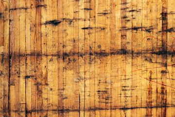 Wall Mural - Dirty wooden wall background