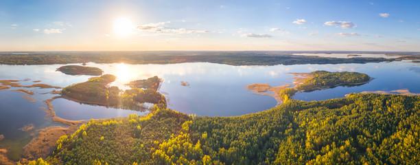 National park Braslau Lakes, Belarus Fotomurales