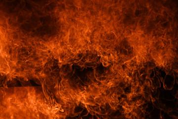 Foto op Canvas Vuur Fire flames background