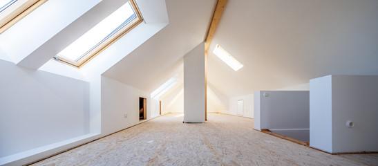 Wohnraumerweiterung durch Dachgeschoßausbau, Panorama
