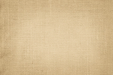 Brown Hemp rope texture background. Sackcloth or blanket wale linen wallpaper. Rustic sack canvas...