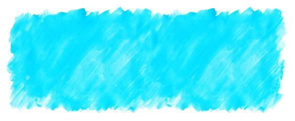 水色の水彩絵の具塗った色斑テクスチャ