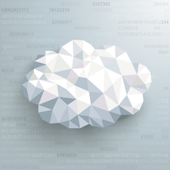 Lowpoly Cloud Data