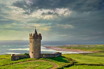 Doonagore Castle, County Ckaire, Ireland