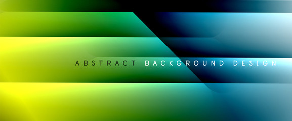 Foto auf Acrylglas Blau türkis Trendy simple fluid color gradient abstract background with dynamic straight shadow line effect. Vector Illustration For Wallpaper, Banner, Background, Card, Book Illustration, landing page