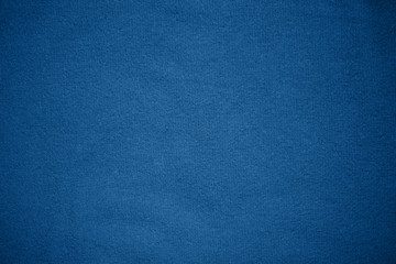 Tuinposter Stof Background texture pattern Blue tone fabric.