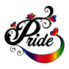 Pride Word Art