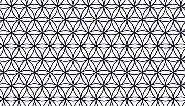 Flower of Life - Illustrator Pattern - Seamless