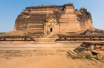 Mingun Pahtodawgyi in Myanmar
