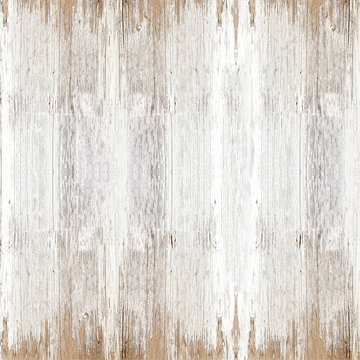 old white painted exfoliate rustic bright light wooden texture - wood background shabby square