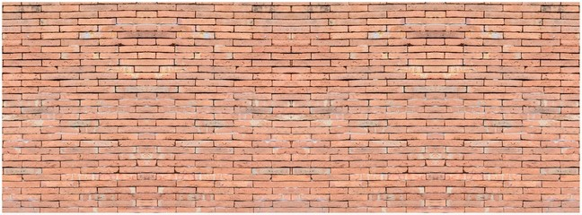 Old vintage retro style bricks wall background and texture.