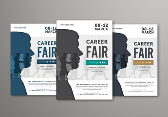 Job Fair Flyer Layout