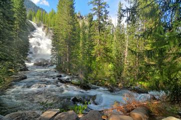 Hidden Falls  -  waterfall in Grand Teton National Park Fotomurales