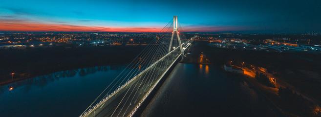 Photo sur Aluminium Ponts bridge at night