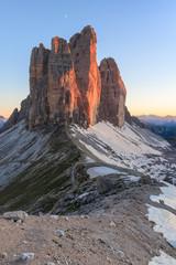 Fototapete - Tre Cime. Dolomite Alps, Italy