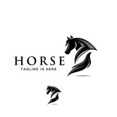 animal, animals, black, branding, dark, defense, deluxe, design, elegance, elegant, graphic, guard, head, horse, icon, logo, luxury, mascot, protect, secure, security, shield, stallion, strategies, s