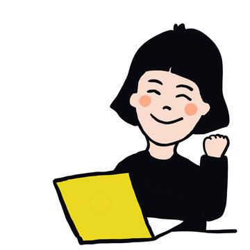 ソフト,パソコン,スキル,勉強,頑張る,ファイト