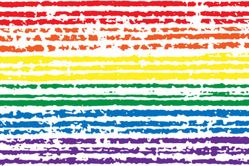 LGBT pride flag color. Symbol of LGBTQ. Colorful rainbow texture. Gay background. Vector illustration, eps 10.