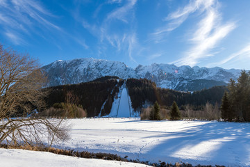 Naturflugschanze Kulm im Ausseerland, Österreich