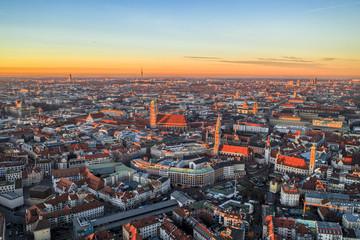 München Innenstadt von Oben