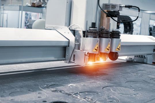 Laser milling engraving machine. Printing Technology