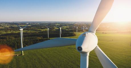Wind Turbines Windmill Energy Farm