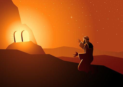 Moses received the Ten Commandments