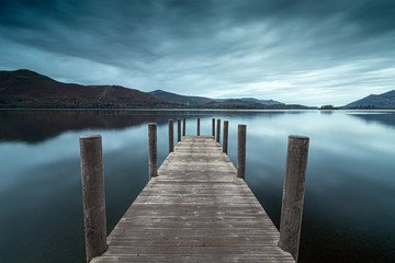 Derwent water jetty, Lake District. U.K.
