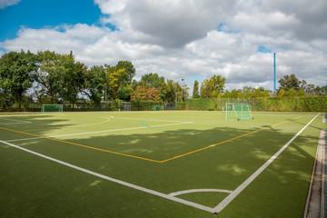 Fußballplatz  - Trainingsplatz im Freien