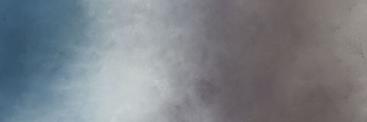 horizontal abstract painting background graphic with gray gray, dim gray and silver colors. free space for text or graphic