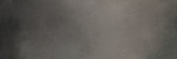 dim gray, very dark blue and gray gray colors abstract brushed background with free space for text or graphic