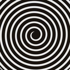 Stores à enrouleur Spirale hypnotic psychedelic spiral twirl vortex