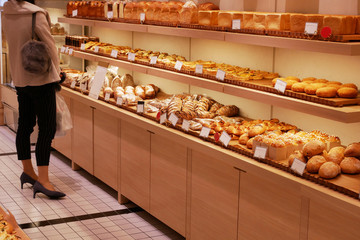 Photo sur Aluminium Boulangerie パン屋の風景