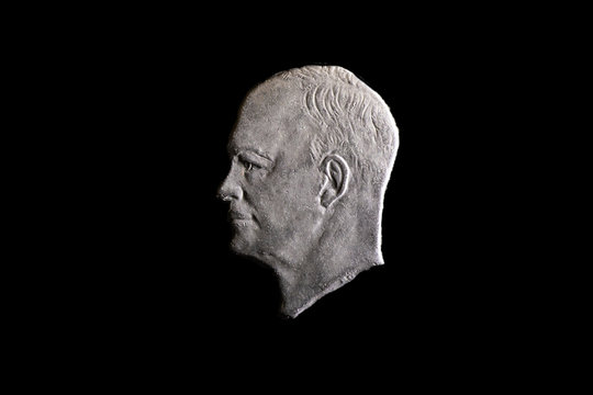 Eisenhower Dollar Coin Bust