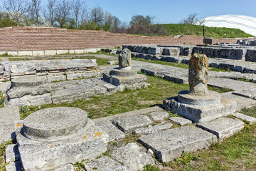 The capital city of the First Bulgarian Empire Fortress Pliska