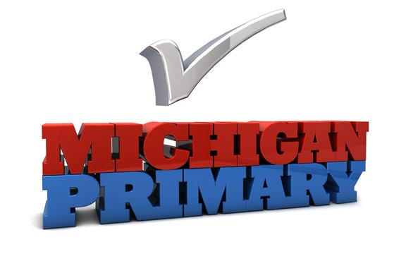 Michigan Primary Election USA