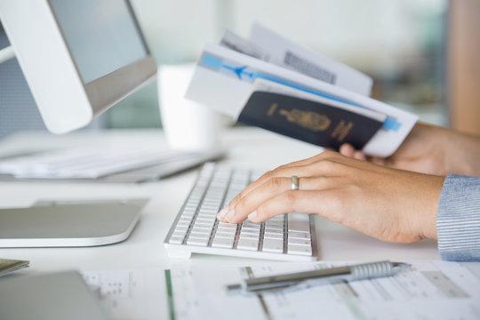 Verifying passport information