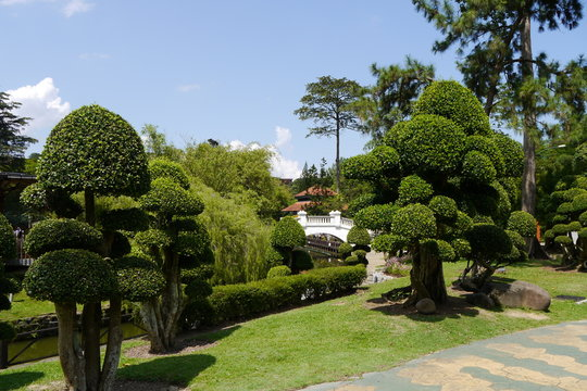 Japanischer Garten im Botanischen Garten Kuala Lumpur