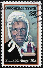 Black heritage, Sojourner Truth on american stamp